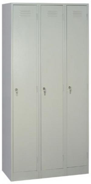 Шкаф металлический для одежды ШРМ - 33 купить на выгодных условиях в Ростове-на-Дону