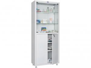Металлический шкаф медицинский HILFE MD 2 1670/SG купить на выгодных условиях в Ростове-на-Дону