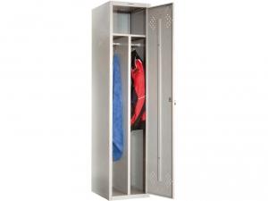 Шкаф металлический для одежды ПРАКТИК LS(LE)-11-40D купить на выгодных условиях в Ростове-на-Дону