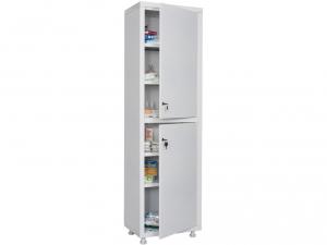 Металлический шкаф медицинский HILFE MD 1 1650/SS купить на выгодных условиях в Ростове-на-Дону
