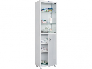 Металлический шкаф медицинский HILFE MD 1 1650/SG купить на выгодных условиях в Ростове-на-Дону