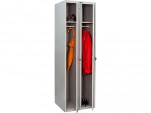 Шкаф металлический для одежды ПРАКТИК LS(LE)-21 купить на выгодных условиях в Ростове-на-Дону