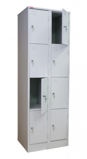 Шкаф металлический для сумок ШРМ - 28 купить на выгодных условиях в Ростове-на-Дону