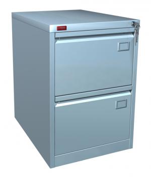 Шкаф металлический картотечный КР - 2 купить на выгодных условиях в Ростове-на-Дону