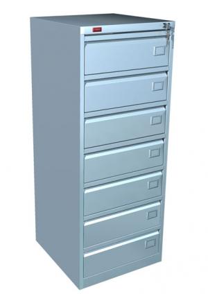 Шкаф металлический картотечный КР - 7 купить на выгодных условиях в Ростове-на-Дону
