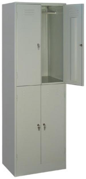 Шкаф металлический для одежды ШРМ - 24 купить на выгодных условиях в Ростове-на-Дону