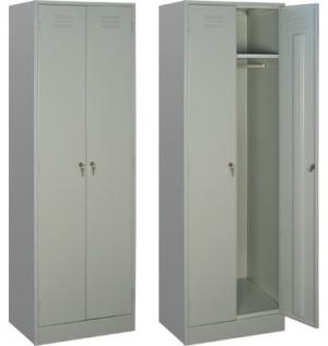 Шкаф металлический для одежды ШРМ - 22/800 купить на выгодных условиях в Ростове-на-Дону