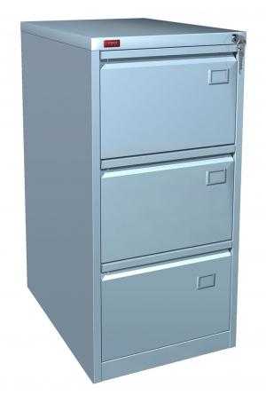 Шкаф металлический картотечный КР - 3 купить на выгодных условиях в Ростове-на-Дону