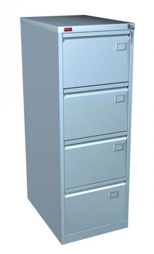Шкаф металлический картотечный КР - 4 купить на выгодных условиях в Ростове-на-Дону