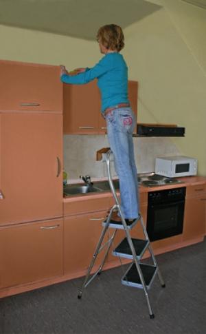 Лестница стремянка Toppy XL 2 ступени купить на выгодных условиях в Ростове-на-Дону
