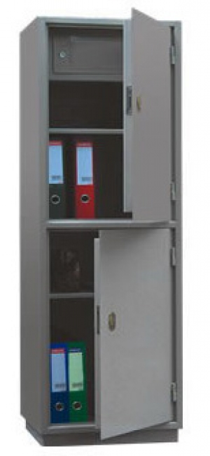 Шкаф металлический для хранения документов КБ - 032т / КБС - 032т купить на выгодных условиях в Ростове-на-Дону