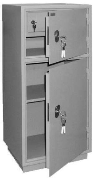 Шкаф металлический для хранения документов КБ - 042т / КБС - 042т купить на выгодных условиях в Ростове-на-Дону