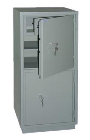 Шкаф металлический бухгалтерский КС-2Т купить на выгодных условиях в Ростове-на-Дону