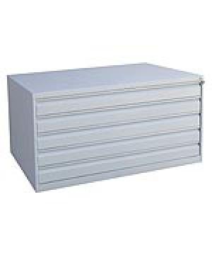 Шкаф металлический картотечный ШК-5-А0 купить на выгодных условиях в Ростове-на-Дону