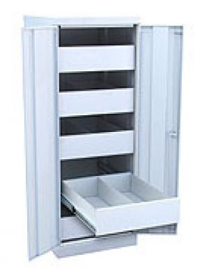 Шкаф металлический картотечный ШК-5-Д2 купить на выгодных условиях в Ростове-на-Дону