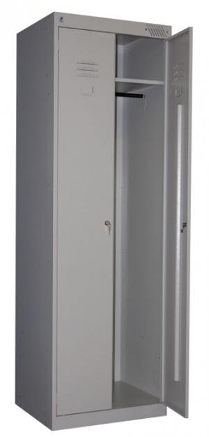 Шкаф металлический для одежды ШРК-22-800 купить на выгодных условиях в Ростове-на-Дону