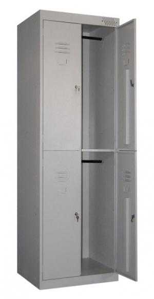 Шкаф металлический для одежды ШРK-24-600 купить на выгодных условиях в Ростове-на-Дону