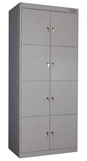 Шкаф металлический для сумок ШРК-28-800 купить на выгодных условиях в Ростове-на-Дону
