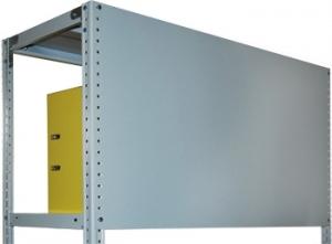 Стенка усиленная 100\100 для металлического стеллажа купить на выгодных условиях в Ростове-на-Дону