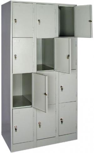 Шкаф металлический для сумок ШРМ - 312 купить на выгодных условиях в Ростове-на-Дону