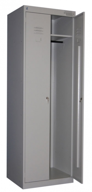Шкаф металлический для одежды ШРК-22-600 купить на выгодных условиях в Ростове-на-Дону